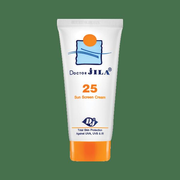 کرم ضد آفتاب بیرنگ Spf25 دکتر ژیلا