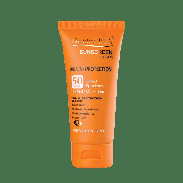 کرم ضد آفتاب مولتی-پروتکشن Spf50 دکتر ژیلا