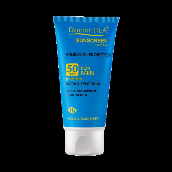 کرم ضد آفتاب آندرو سان-پروتکشن SPF50 بی رنگ